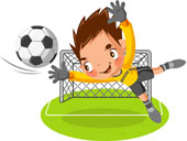 se divertir/enfant foot
